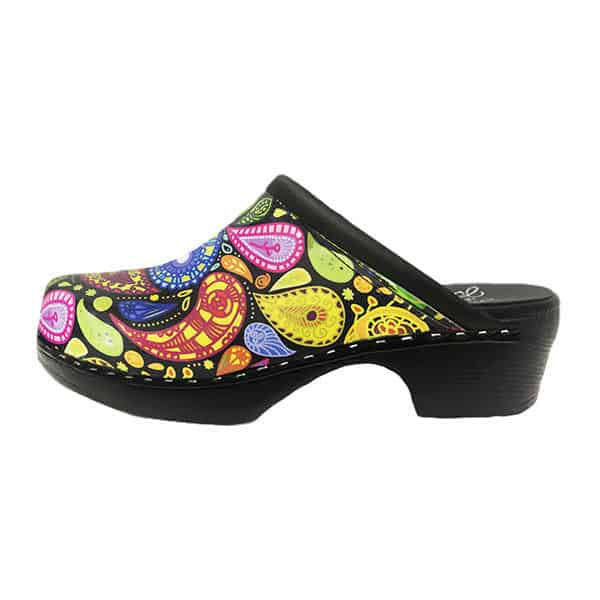 c and c sweden paisley clogs - best clogs