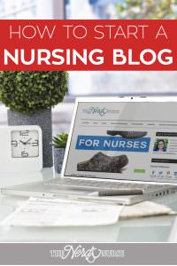 Start a Nursing Blog in 3 Easy Steps