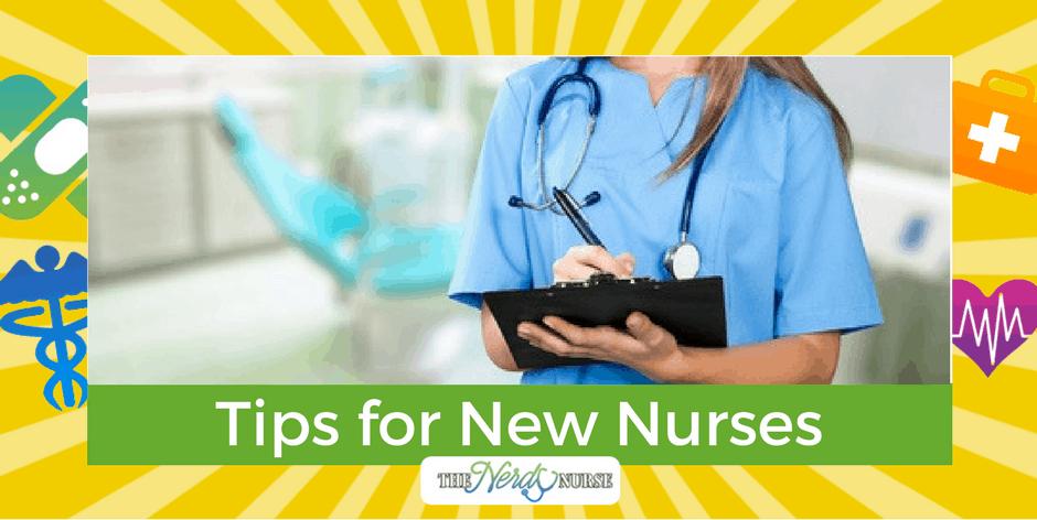 Tips for New Nurses - New Nurse Survival Tips