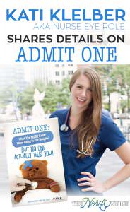 Kati Kleber Shares Insight on Becoming a Nurse Author and Admit One