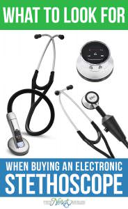 Buying an electronic stethoscope can seem daunting. This post will show you what to look for when buying an electronic stethoscope.