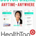 Talk to a Doctor Online- Anytime- Anywhere with HealthTap