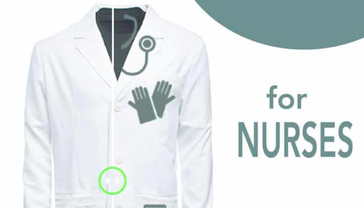 The Most Nerdy Lab Jacket for Nurses
