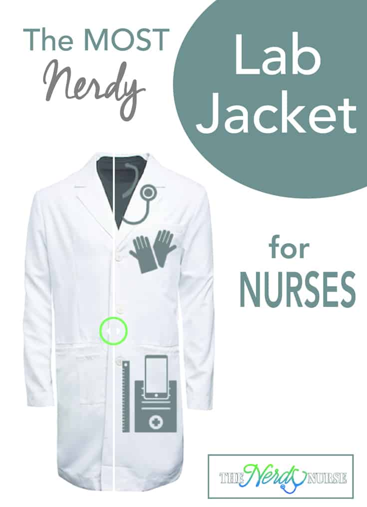 Nurses have to carry a lot of things. But the best Nerdy Lab Jacket for nurses has pockets galore and can handle everything you have to carry with you.