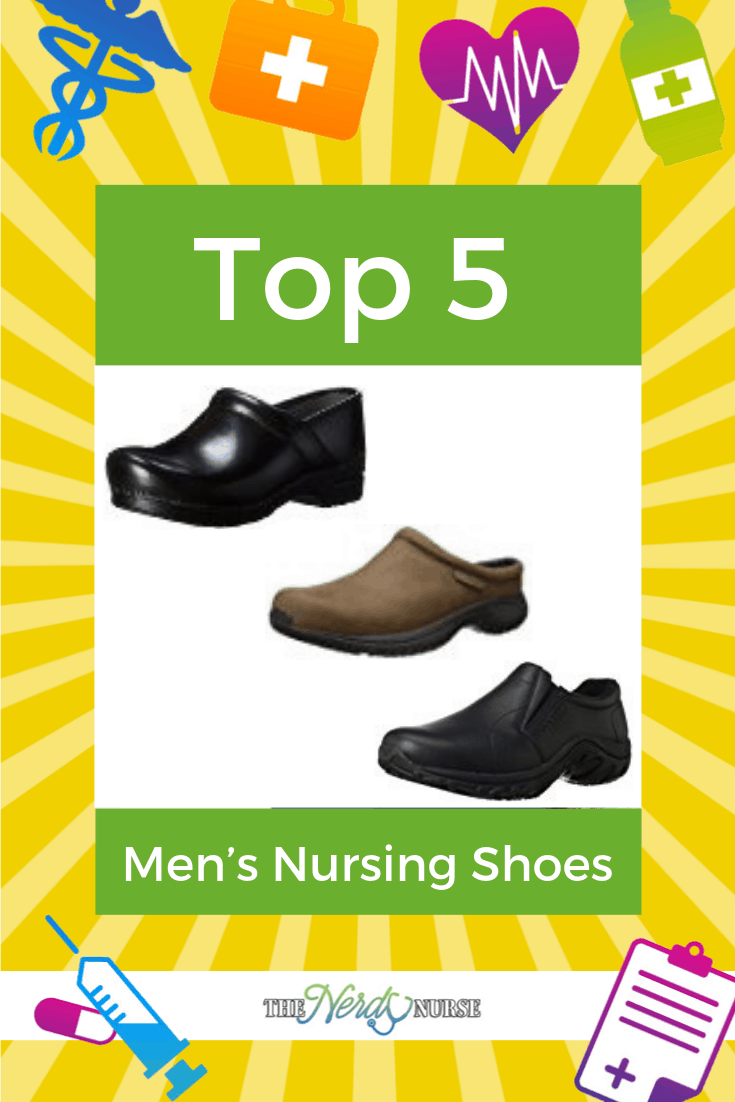 Top 5 Men's Nursing Shoes