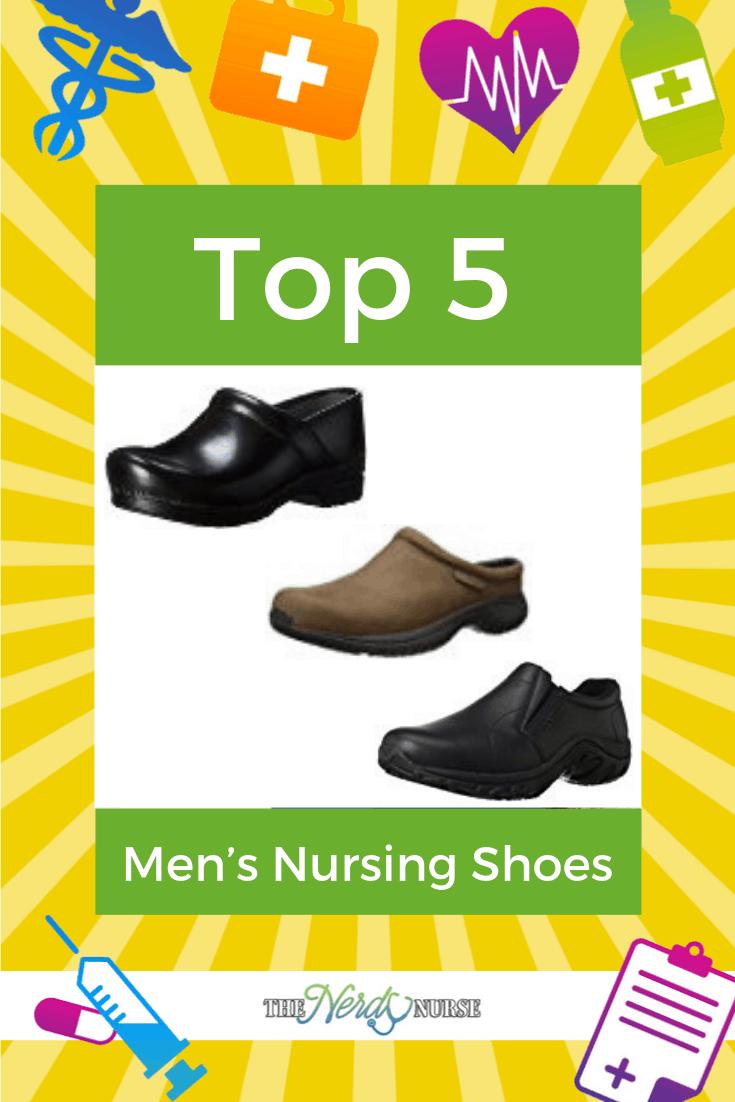 c5392cd8fd Top 5 Men's Nursing Shoes