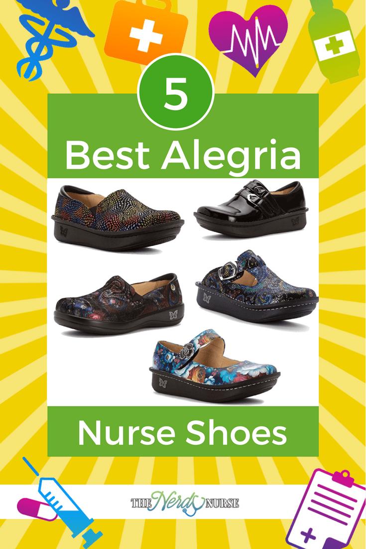 Best Alegria Nurse Shoes