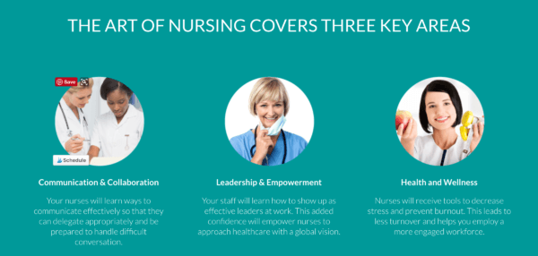 the art of nursing key areas