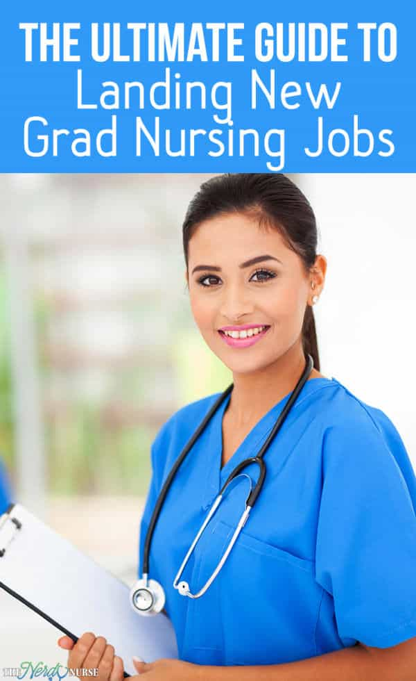 New grad nursing jobs are coveted and require an edge to ensure they secure both an interview and the position. Join me as I catch up with Nurse Beth.