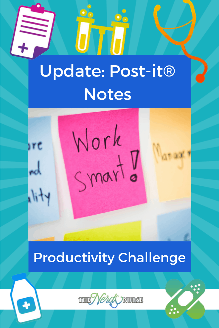 Update: Post-it® Notes Productivity Challenge
