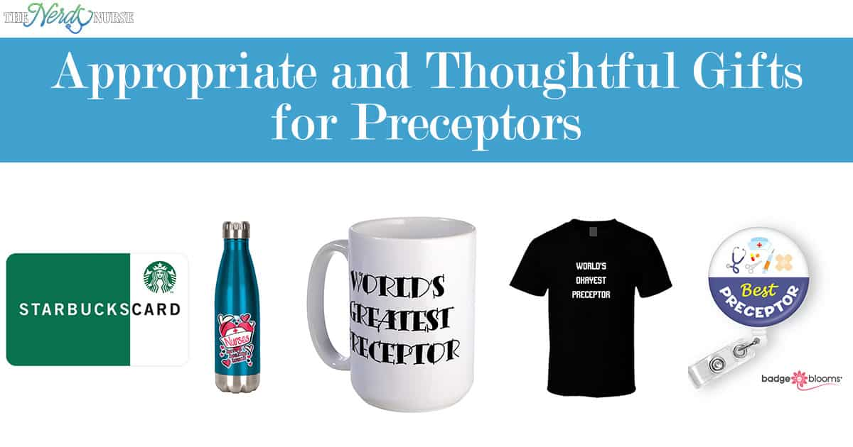 b203cab6f5 Appropriate and Thoughtful Gifts for Preceptors