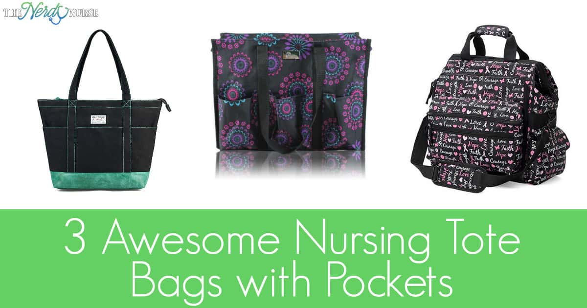 To help ease your burdens and literally take some weight off your back, we've put together a list of our top 3 nursing tote bags with pockets.