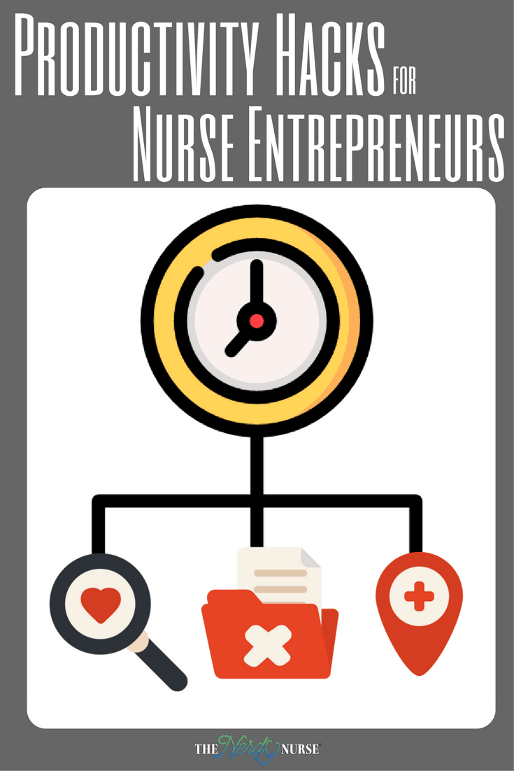Nurse entrepreneurs can be extremely busy, so it can can be helpful to learn time management and organization strategies to increase your productivity.
