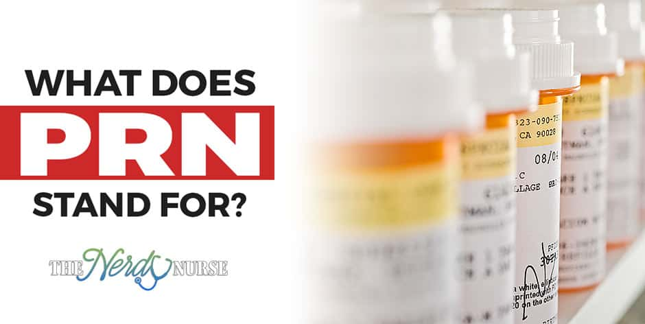 "What does PRN stand for and when should it be used? PRN is from a latin term which literally translates into English ""as needed"". When should it be used?"