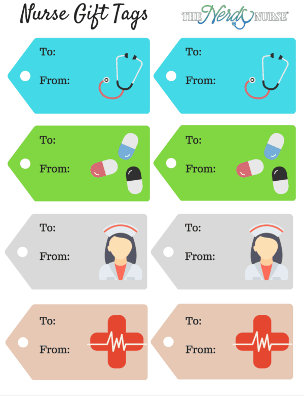 Download FREE Nurse Gift Tags