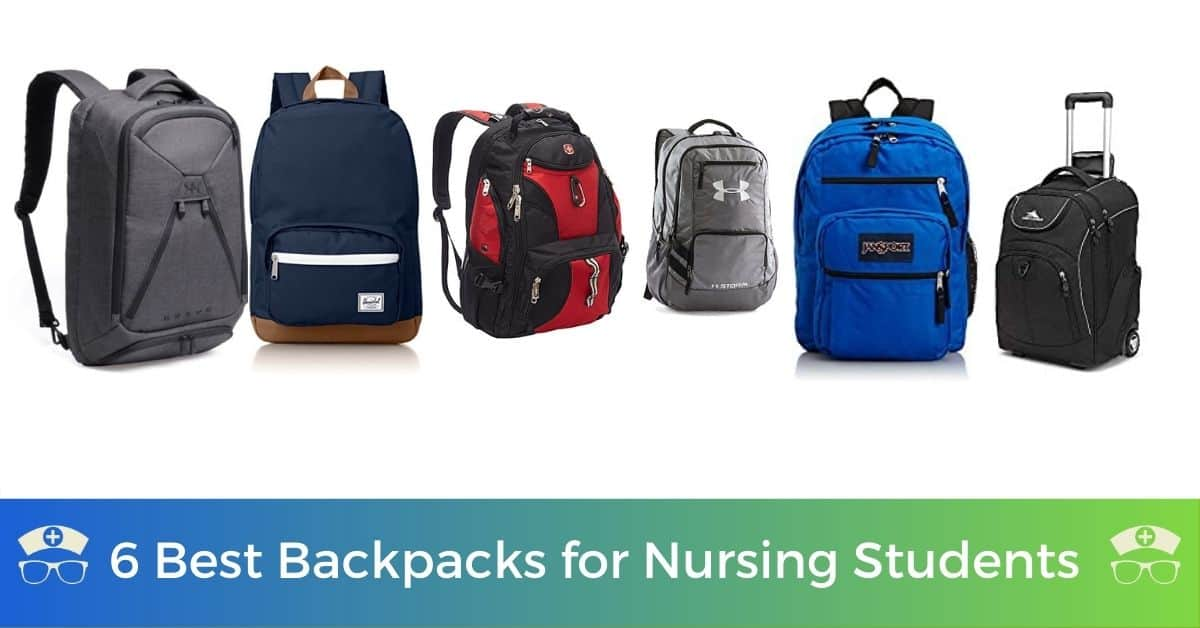 6 Best Backpacks for Nursing Students