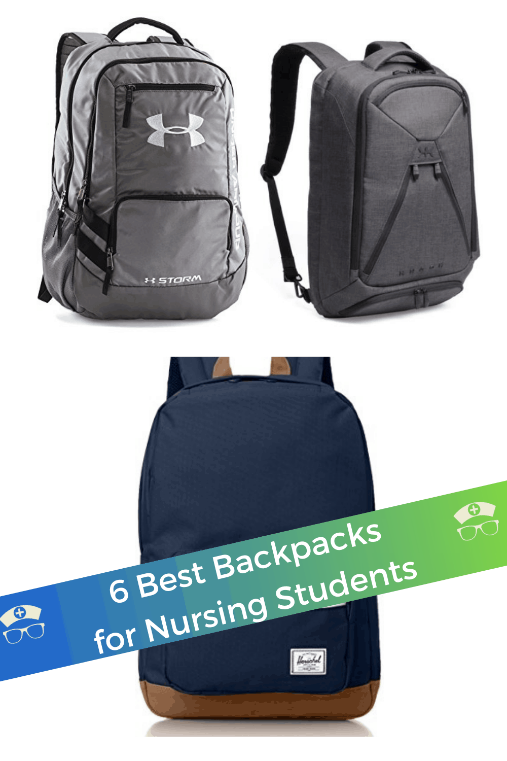6 Best Backpacks for Nursing Students. What you need is a good backpack to carry everything. To make things much simpler we have listed top choices of best backpacks for nursing students. #thenerdynurse #nurse #nurses #nursingstudent #backpacks #backpacksfornurses #nursegear
