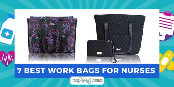 As a nurse because you're going to end up needing to carry a million things. The list can literally be endless! Let's look at the best work bags for nurses.