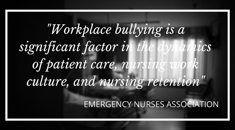 Stories - ENA workplace bullying impacts patient care