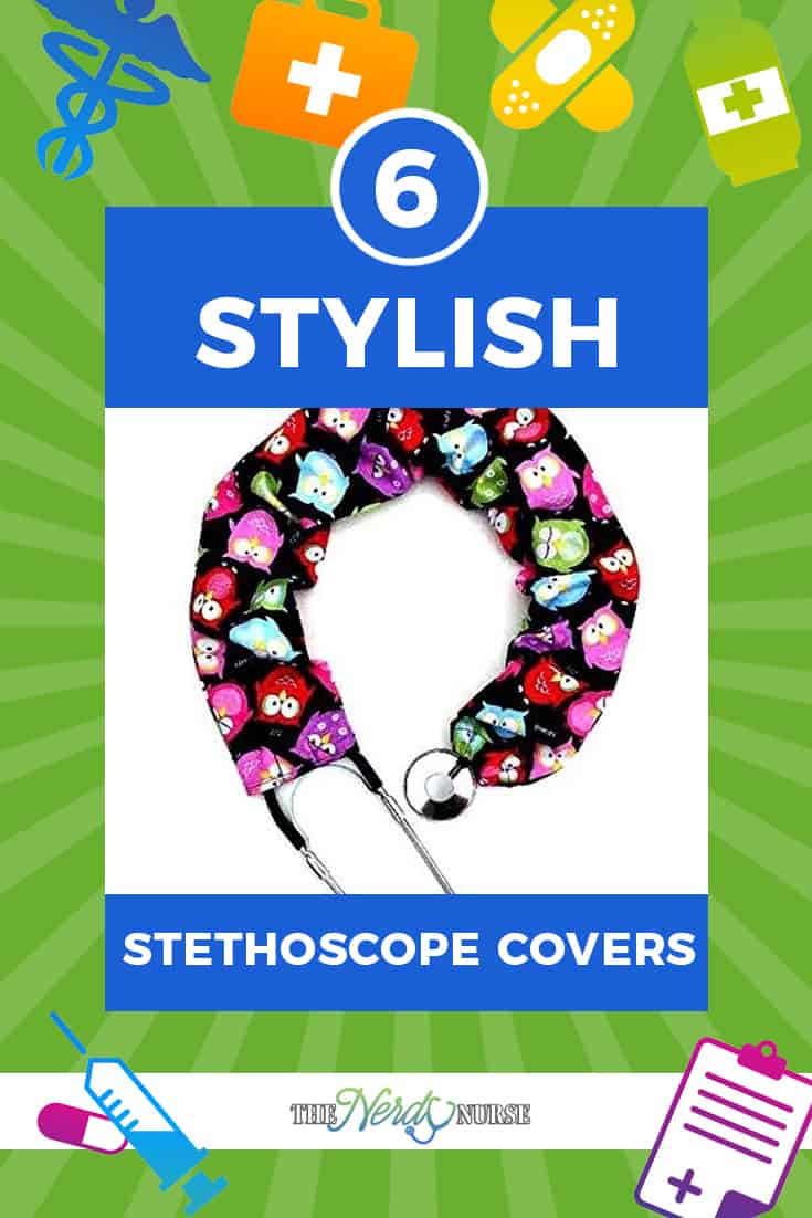 Since stethoscope covers are such a great idea, you might as well add some great style to them. Here's a list of stethoscope covers that are worth a look.