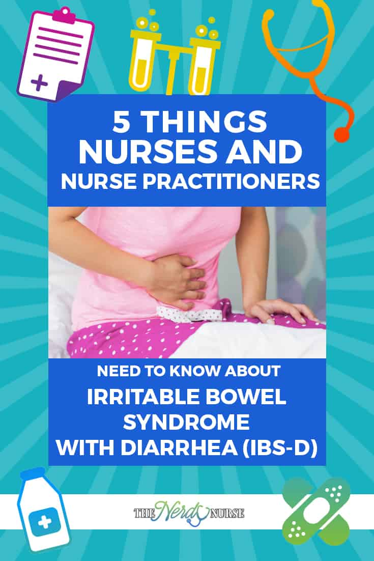 Irritable Bowel Syndrome with Diarrhea - IBS - Pin