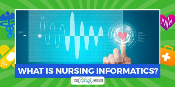 Nursing informatics is a field that allows specialists to be at the meeting point of technology and healthcare, giving a front row seat to many innovations.