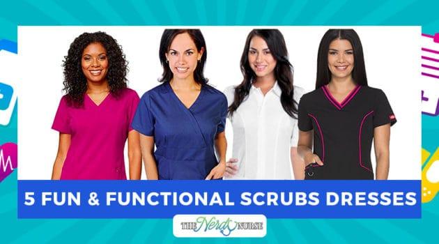5 Fun and Functional Scrub Dresses