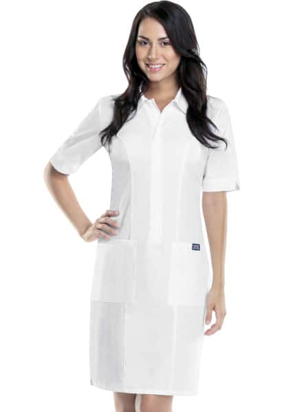 Cherokee Zip Front Scrub Dress