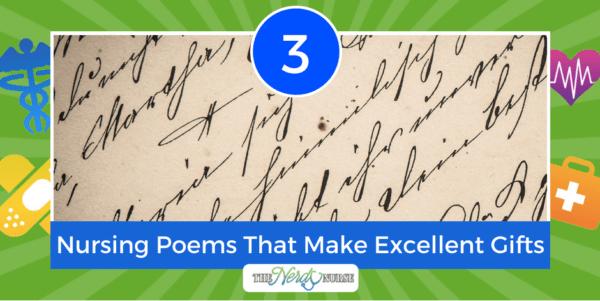 3 Nursing Poems That Make Excellent Gifts