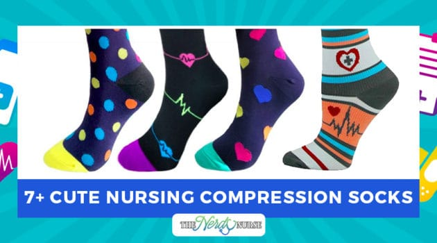 7+ Cute Nursing Compression Socks
