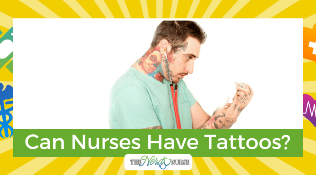 Can Nurses Have Tattoos?