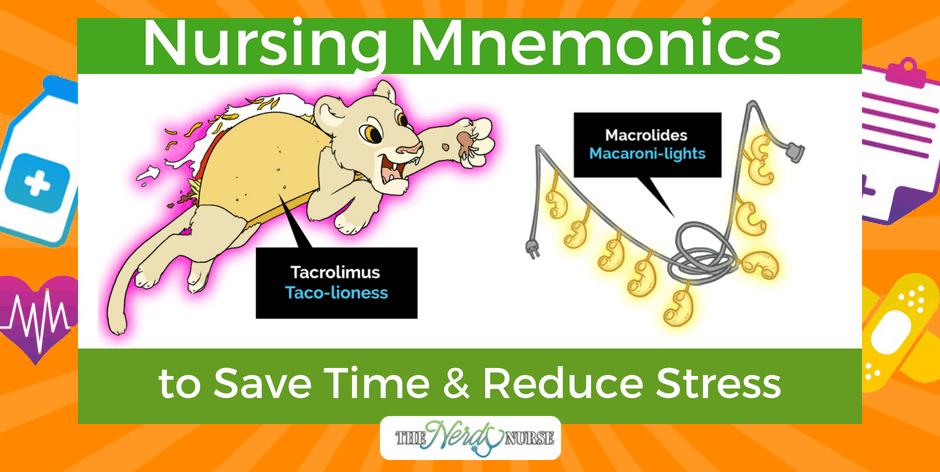 Remember These Nursing Mnemonics to Save Time & Reduce Stress