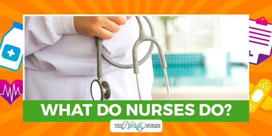 What Do Nurses Do?  #nurses #nursing #nursingschool #nurselife