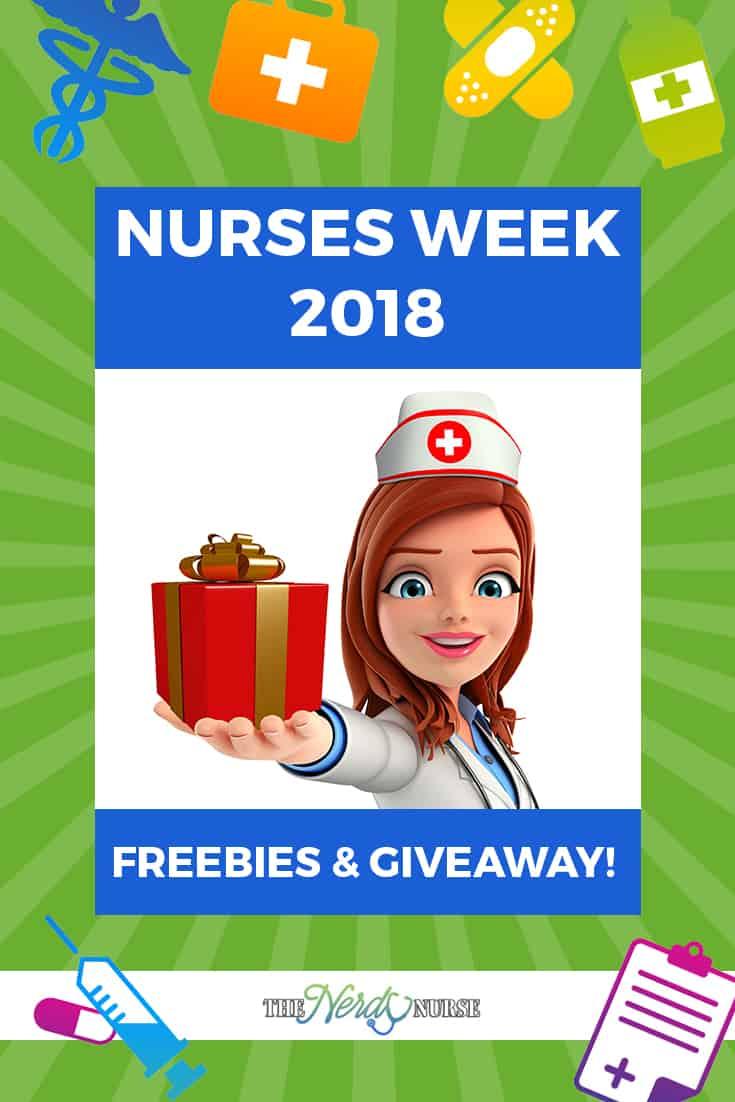 Nurses week 2018 freebies and giveaway m4hsunfo