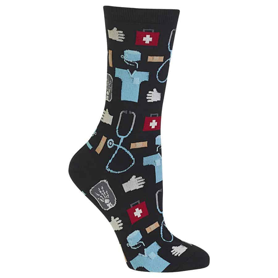 Women's Medical Crew Socks