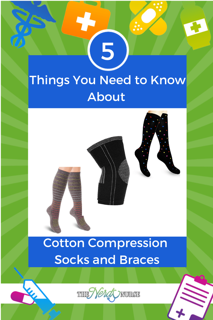 5 Things You Need to Know About Cotton Compression Socks and Braces
