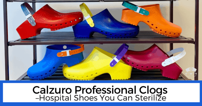Calzuro Professional Clogs - Hospital Shoes You Can Sterilize