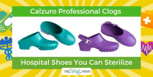 Calzuro Professional Clogs - Hospital Shoes You Can Sterilize