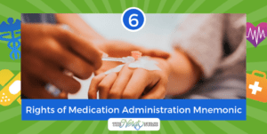 6 Rights of Medication Administration Mnemonic