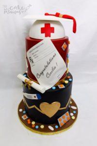 The Cake Mamas Tiered Nurse Cake
