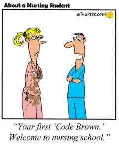 First Code Brown Cartoon