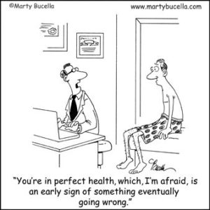 Early Sign Something is Wrong Funny Cartoon