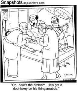 Thingamabob Nurse Cartoon