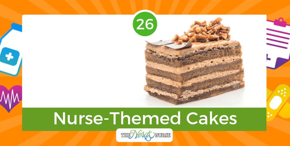 26 Creative Nurse-Themed Cakes For Birthdays or Graduation