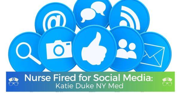 Katie Duke Ny Med Nurse Fired for Social Media