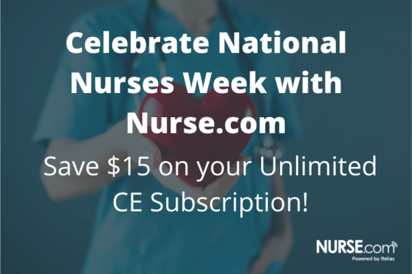 Nurses Week 2020 Freebies