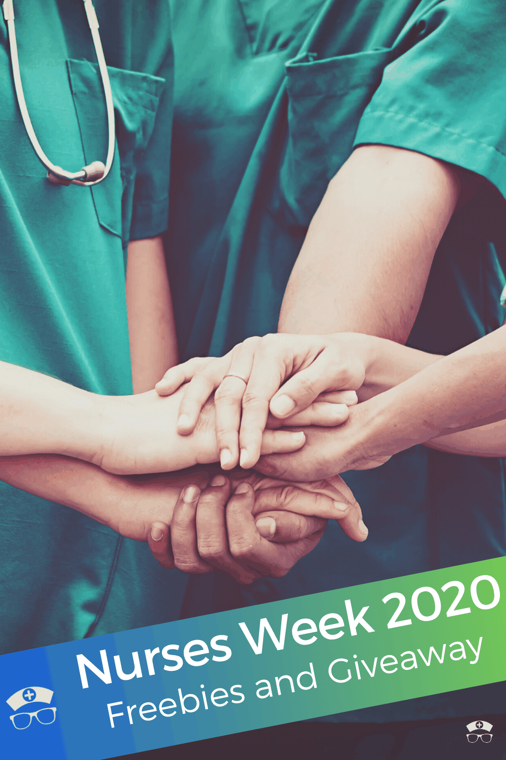 Nurses Week 2020 Freebies and Giveaway. Enter the Nurses Week 2020 giveaway and get the scoop on all the freebies. #thenerdynurse #nurse #nurses #nursesweek #giveaway #freebies
