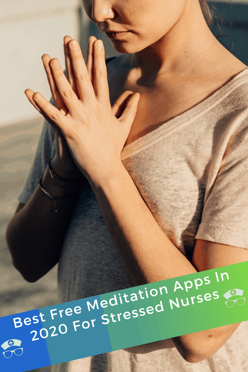 Best Free Meditation Apps In 2020 For Stressed Nurses. If you need some guided deep breathing to help you relax, then these are the best free meditation apps of 2020 - for both Android and iOS! #thenerdynurse #nurse #nurse #stress #mediation #apps #free