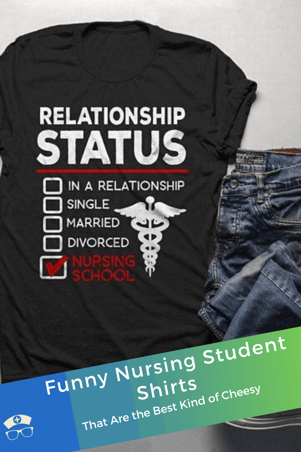 Funny Nursing Student Shirts That Are the Best Kind of Cheesy. Find a shirt that sums up how you feel about nursing school! These are the best nursing student shirts - cheesy, funny, and totally you! #thenerdynurse #nurse #nurses #nursingstudent #nursetshirts #giftsfornurses