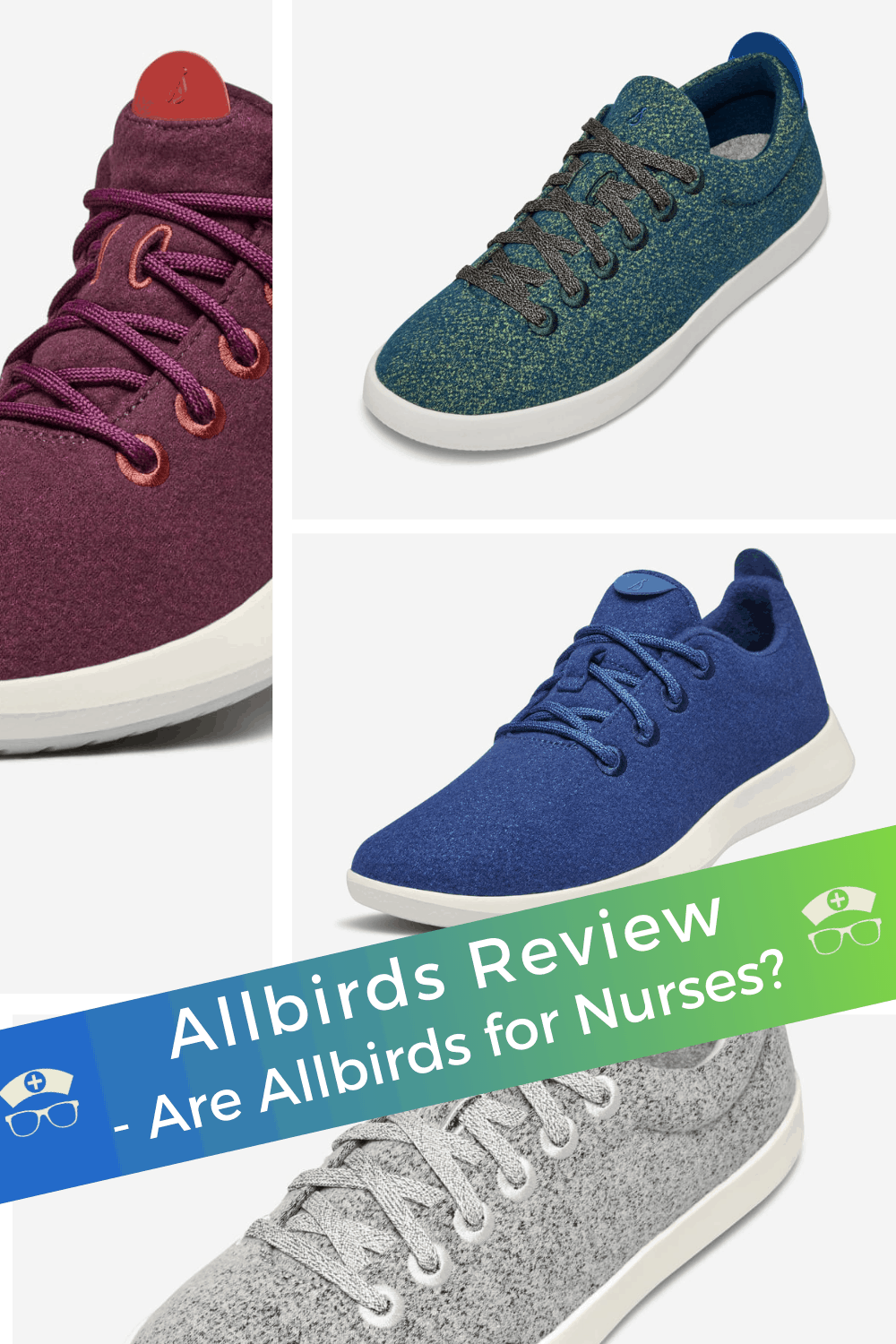 Allbirds Review - Are Allbirds for Nurses? Looking for an Allbirds review? Allbirds are one of the most popular shoes on the market, let's look at if Allbirds are for nurses. #thenerdynurse #nurse #nurses #nurseshoes #allbirdshoes #shoes #nursingshoes
